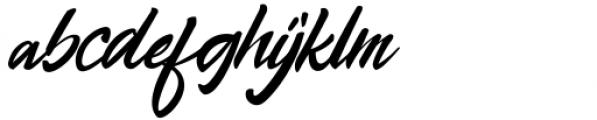 Skyfall Regular Font LOWERCASE