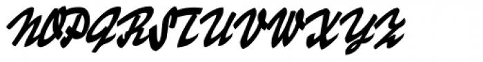 Skygirls Font UPPERCASE