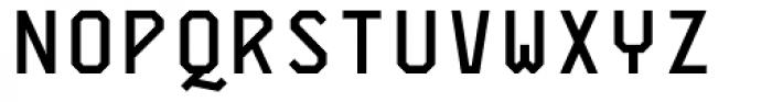 Skyhook Mono Bold Font UPPERCASE