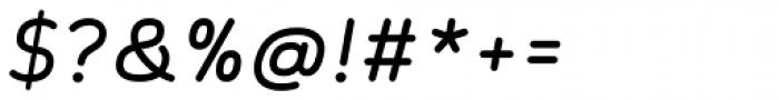 Skyler Italic Font OTHER CHARS