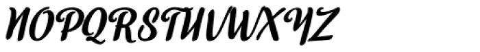 Skyr Pro Italic Font UPPERCASE