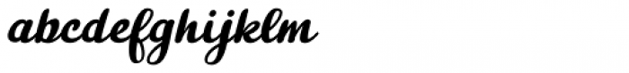 Skyr Pro Italic Font LOWERCASE
