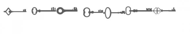skeleton keys doodlebat Font OTHER CHARS
