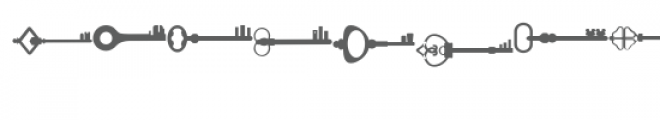 skeleton keys doodlebat Font UPPERCASE