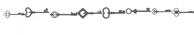 skeleton keys doodlebat Font LOWERCASE