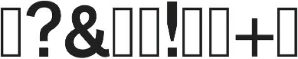 Slab Classico ttf (400) Font OTHER CHARS