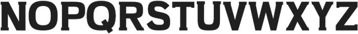 Slab Classico ttf (400) Font UPPERCASE