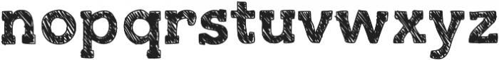 SlabThing ttf (100) Font LOWERCASE