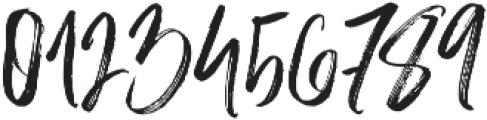 Slabor Brush otf (400) Font OTHER CHARS