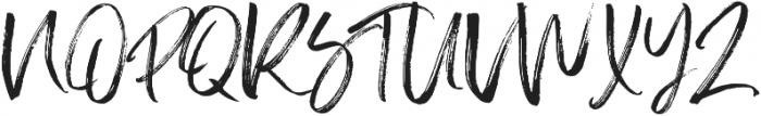 Slabor Brush otf (400) Font UPPERCASE