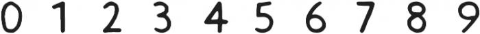 Slack Hands ttf (400) Font OTHER CHARS