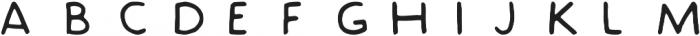 Slack Hands ttf (400) Font LOWERCASE