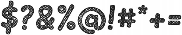 Slantinel Bold-Grid otf (700) Font OTHER CHARS