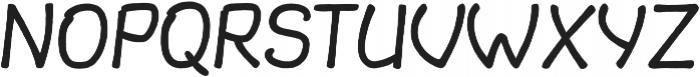 Slantinel Light-Clean otf (300) Font UPPERCASE