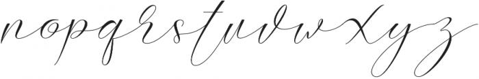 Slavelake Regular otf (400) Font LOWERCASE