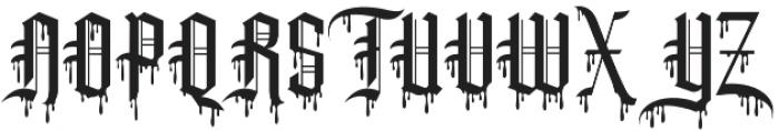 Slayer creeper alternate otf (400) Font UPPERCASE