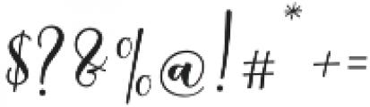 Sleeplesson Font Regular otf (400) Font OTHER CHARS