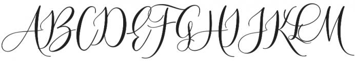 Sleeplesson Font Regular otf (400) Font UPPERCASE
