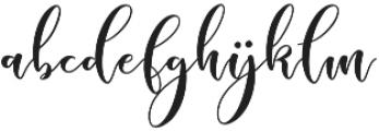 Sleeplesson Font Regular otf (400) Font LOWERCASE