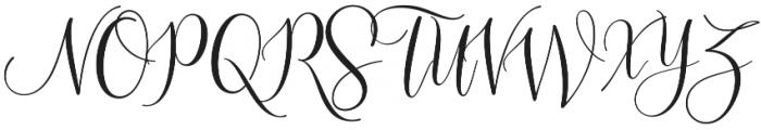 Sleeplesson Plus Regular otf (400) Font UPPERCASE