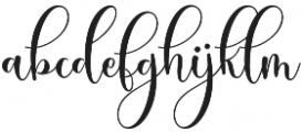 Sleeplesson Plus Regular otf (400) Font LOWERCASE