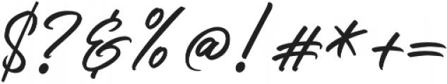 Slender otf (400) Font OTHER CHARS