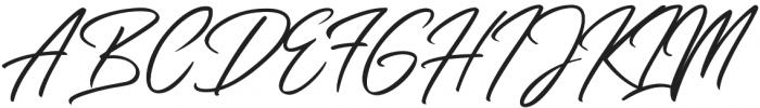 Slender otf (400) Font UPPERCASE