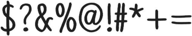 Slenderz Bold otf (700) Font OTHER CHARS