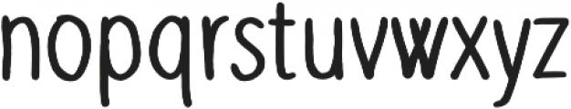 Slenderz Bold otf (700) Font LOWERCASE