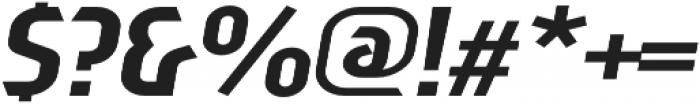 Sliced Down Tilted otf (400) Font OTHER CHARS