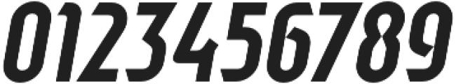 Sliced Tilted otf (400) Font OTHER CHARS