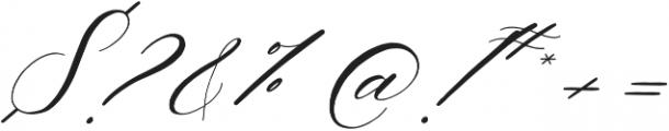Slight otf (300) Font OTHER CHARS