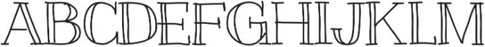 Slim ttf (400) Font UPPERCASE