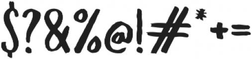 Slopes Regular ttf (400) Font OTHER CHARS