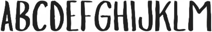 Slopes Regular ttf (400) Font UPPERCASE