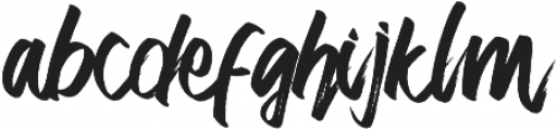Slow Attack otf (400) Font LOWERCASE