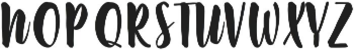 Slow Life ttf (400) Font UPPERCASE
