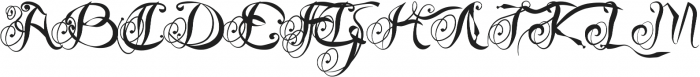 Slow Motion Combination Flow otf (400) Font UPPERCASE