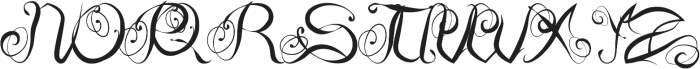 Slow Motion Style 2 otf (400) Font UPPERCASE