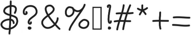 SlowPony ttf (400) Font OTHER CHARS