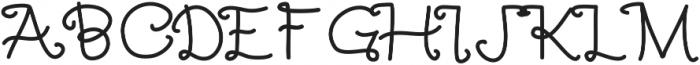 SlowPony ttf (400) Font UPPERCASE