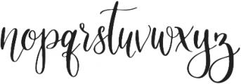 Slowbird Regular ttf (400) Font LOWERCASE