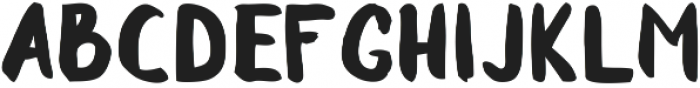 Sluggard otf (400) Font UPPERCASE