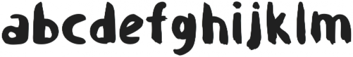 Sluggard otf (400) Font LOWERCASE