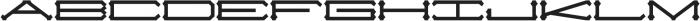 Slugger Extended otf (400) Font LOWERCASE