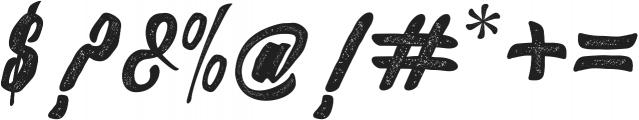 Slugs Script ttf (400) Font OTHER CHARS