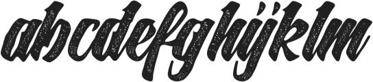 Slugs Script ttf (400) Font LOWERCASE