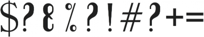 slightly sans serif otf (300) Font OTHER CHARS
