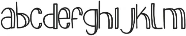slimkid Bold otf (700) Font LOWERCASE