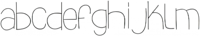 slimkid Light ttf (300) Font UPPERCASE